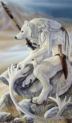 I never seen a Snow wolf werewolf he looks native american