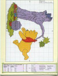 Winnie the Pooh Cross Stitch