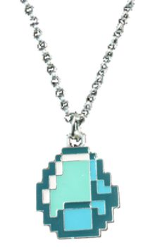 Diamond Pendant Necklace #minecraft