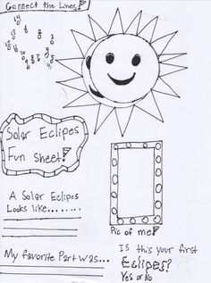 Free Eclipse Printable
