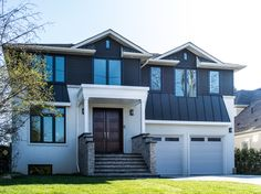 Sailing away from the competition with this gorgeous builder home, fitted with a plethora of our Custom Windows, painted to match the exterior siding Greater Toronto Area, Window Replacement, Custom Windows, Exterior Siding, Sail Away, Window Design, Ontario, Sailing, Competition