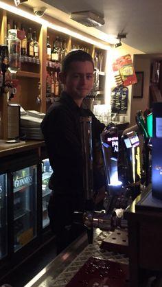 Some bartender in Ireland.