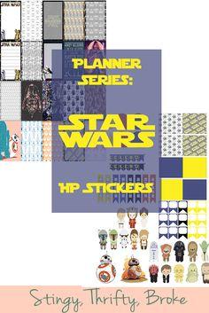 Planner Series: Star Wars HP Stickers