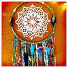 DIY dream catcher by CAuf