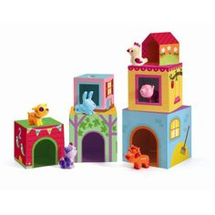 Djeco Infant Cubes Topanifarm