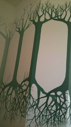 The right point of view.  Wall painting.  Come Achille.