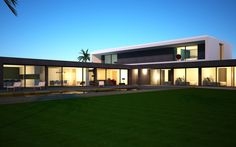 Casa da Palmeira Coastal Homes, House Plans, Villa, Houses, Mansions, House Styles, Building, Home Decor, Dibujo