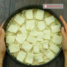 Budinca de legume – o mancare delicioasă pentru cei ce nu au idee ce să gătească la cină. - savuros.info Diet Recipes, Cheese, Vegan, Bebe, Skinny Recipes, Vegans, Healthy Diet Recipes