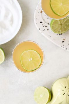 Three Ingredient Classic Daiquiris! #cocktails #daiquiris #rum #summer #classic #drink