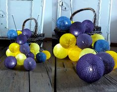 #cotton #ball #lights #diy #cottonballlights