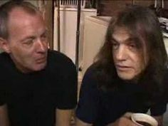 Angus and Malcolm Young Interview