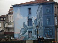 Mur peint à Angoulême