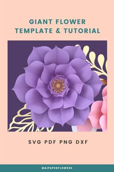 Crafting happily with this paper flower template and tutorial! It is easy to use with Cricut and Silhouette cutting machines and Printer. #paperflowerscraft #paperflowertemplate #paperflowertemplatesvg #paperflowerprintabletemplate #paperflowertutorial #paperflowersvg #makingpaperflowers #paperflowersdiy #paperflowerscricut #paperflowersvg #flowertemplatesvg #diypaperflowers #cricutpaperflowers Easy Paper Flowers, Paper Flower Backdrop, Paper Flower Tutorial, Flower Svg, Flower Template, Flower Crafts, Giant Paper Flowers, Printable Templates, Pink Paper