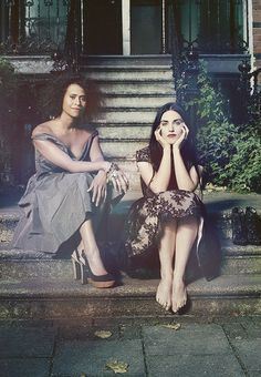 "Angel Coulby and Katie McGrath AKA Guinevere and Morgana from the BBC's ""Merlin"""