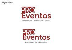 Logotipo desenvolvido para empresa no segmento de eventos sociais, que trabalha para fotografia e sonorização.