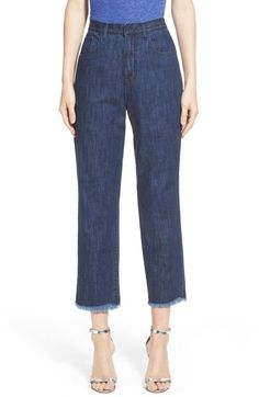 Marques'Almeida High Waist Skinny Jeans (Nordstrom Exclusive) available at #Nordstrom