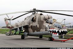 Mil Mi-25 Peru - Air Force