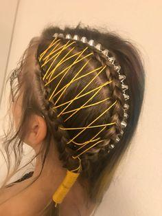 Styling Redken color AWARDS studs braids en waving