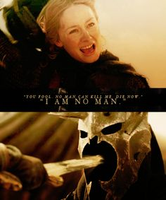 Eowyn, the white lady of Rohan.