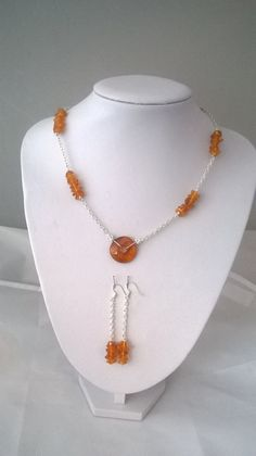 Handmade Genuine Natural Baltic Amber Necklace by K8tieSparkles