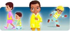 Think! Education - Early years and Primary - Parents - 5-7s - Be Bright, Be Seen