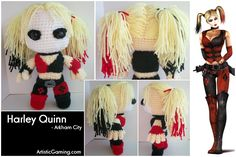 Harley Quinn - Arkham City by ~GamerKirei on deviantART. WOAH!!!