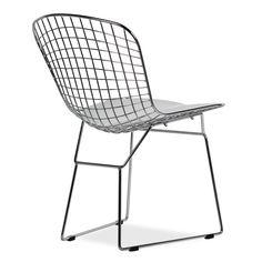Chaise Bertoia  Chrome Edition  (Chaises Icon Design)   Bertoia Chaises De  Design