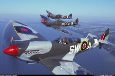 The Battle of Britain Air Force Aircraft, Ww2 Aircraft, Fighter Aircraft, Military Aircraft, Fighter Jets, Aircraft Propeller, Lancaster, Spitfire Supermarine, The Spitfires