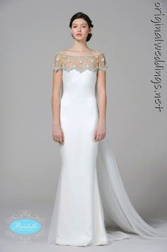 Perfect bride gown. Marchesa 2013.