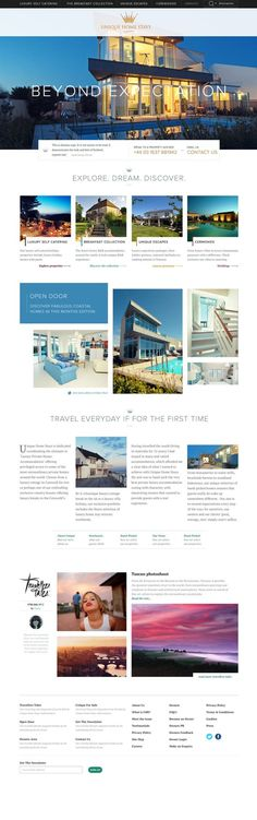 Unique Home Stays on Web Design Served Simple Web Design, Web Ui Design, Logo Design, Webdesign Inspiration, Website Design Inspiration, Design Ideas, Website Header Design, Website Designs, Website Ideas