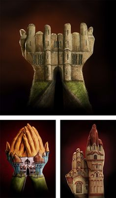 Amazing Hand Paintings by Annie Ralli