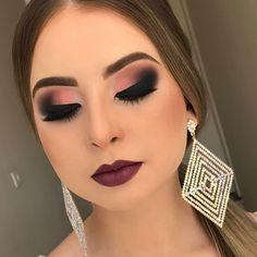 "296 Likes, 26 Comments - PATRICIA ZANATTA (@patriciazanattamakeup) on Instagram: ""Gente estou apaixonada nessa técnica do semi Cut Crease !! fica linda e super usável ! O…"""