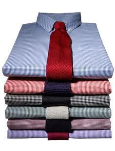 Shirt and Tie Stack
