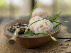 Garnelenbällchen mit Pflaumen-Chili-Sauce: Rundum lecker und nur Gutes für Schilddrüse und Immunsystem: Bei Fett ist hingegen (fast) Fehlanzeige.