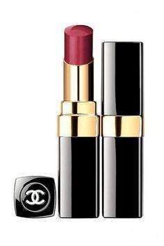 Chanel Rouge Coco Shine rosso scuro