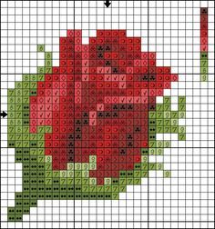 Pin by Сross stitch techniques on Floral cross stitch Kawaii Cross Stitch, Mini Cross Stitch, Cross Stitch Cards, Beaded Cross Stitch, Cross Stitch Flowers, Cross Stitching, Cross Stitch Embroidery, Embroidery Patterns, Embroidery Thread