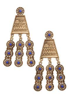 Rows of Radiance Earrings