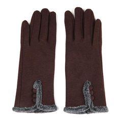 Korean Style Dirving Spandex Velvet Screen Touch Gloves Knitting Winter Warm Gloves - Gchoic.com