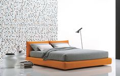 Rh 39 s cloud platform leather bed a nod to the relaxed modernism of mid 20th century american - Lit zanzariera ivano redaelli ...