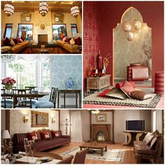 Interior design ideas in the Arab style