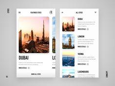 Cities UI Experiment