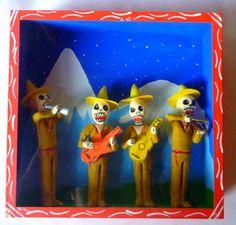 Mexican diorama