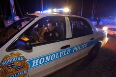 A police officer with the Honolulu Police Department