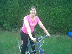 Pauline Watts is in training for her triathlon on September 29th!