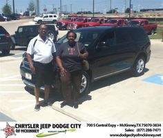 #HappyBirthday to Phyllis Sweat from Bobby Crosby at Dodge City of McKinney!