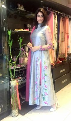 Colors & Crafts Boutique™ offers unique apparel and jewelry to women who value versatility, style and comfort. For inquiries: Call/Text/Whatsapp Salwar Pattern, Kurta Patterns, Dress Patterns, Pakistani Dresses, Indian Dresses, Indian Outfits, Indian Attire, Indian Ethnic Wear, Shalwar Kameez