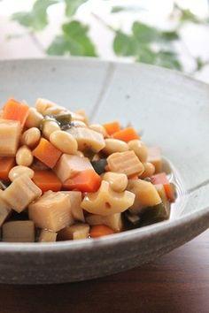 簡単!世界一美味しい♡栄養たっぷり五目豆