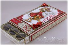 Cardville- Cards by Elizabeth Diy And Crafts, Paper Crafts, Sweet Box, Creation Deco, Magnolia Stamps, Pillow Box, Scrapbook, Chocolate Box, Handmade Christmas