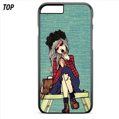 Cute Girl Waiting Friend For Iphone 6 | 6S Plus Case