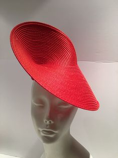 Excited to share this item from my shop: Red hat- Derby Fascinator- Wedding Purple Fascinator, Fascinator Hats, Fascinators, Headpieces, Red Hat Ladies, Ladies Luncheon, Wedding Hats, Wedding Dress, Fancy Hats